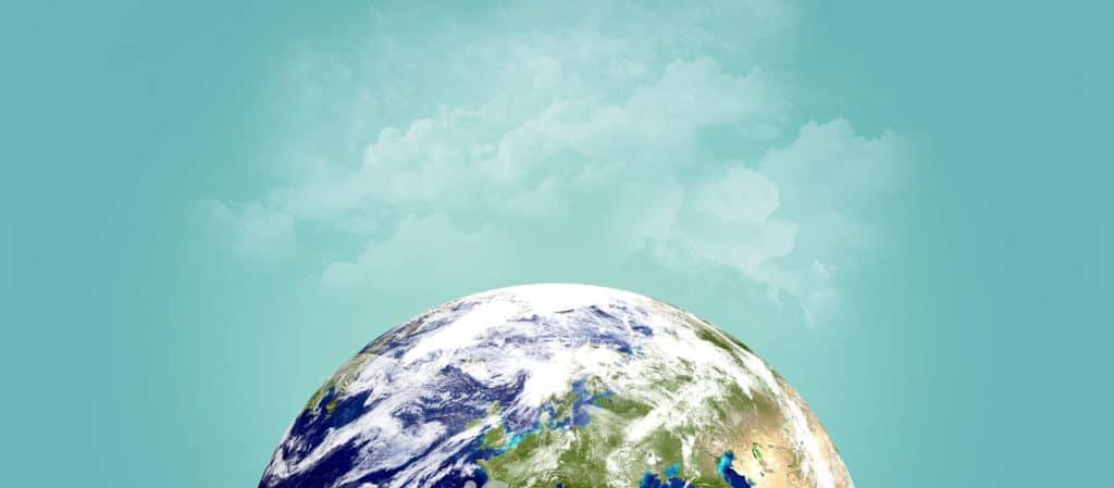 Windparkplanung und andere Energielösungen von naturwind | Satellitenaufnahme nördliche Erdhalbkugel